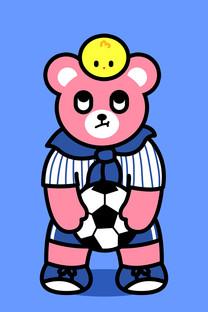 Luca熊可爱手机壁纸